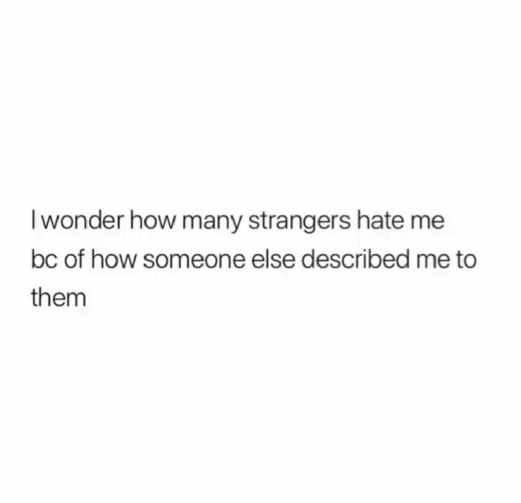 Strangers Impressions