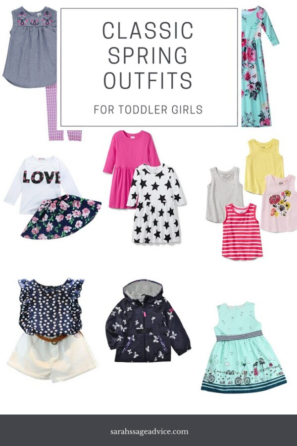 One Of My Favorite Things About Spring Is Buying Some New Fun Spring Clothes For My Kids My Oldest Is So Cute In All Of Her Different Spring Clothes