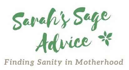 Sarah's Sage Advice