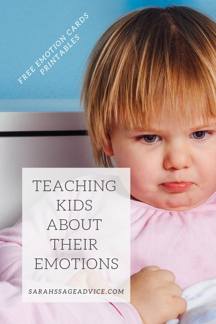 Teaching Kids About Their Emotions - Sarah's Sage Advice